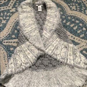 Grey max studio sweater vest